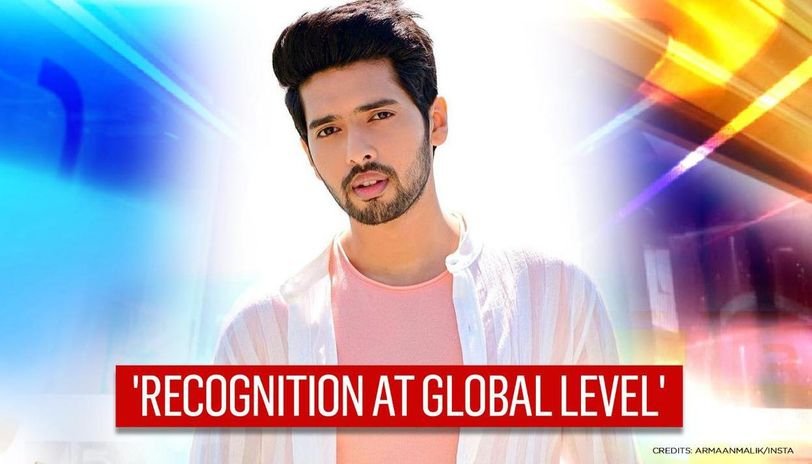Armaan Malik wins 'The Best India Act' for his single 'Control' at MTV Europe Music Award