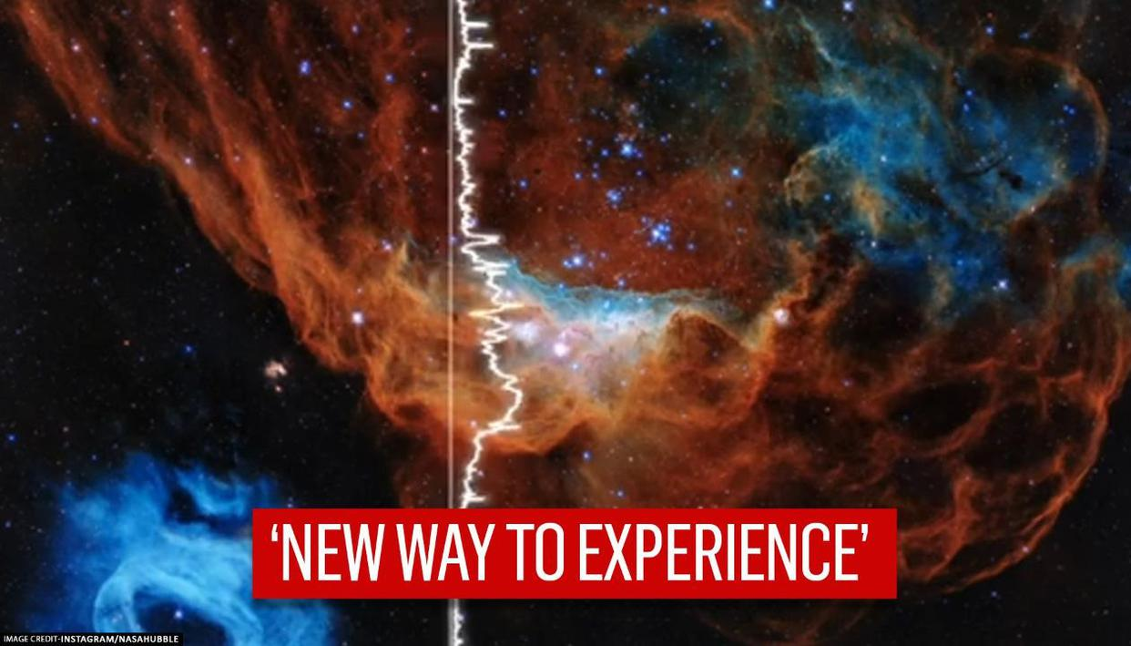 NASA reveals how space's 'Cosmic Reef' sounds like as Hubble marks 30th anniversary - Republic World - Republic World