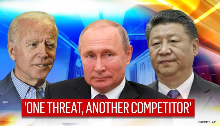 Joe Biden dubs Russia biggest threat to US security, calls China biggest  competitor