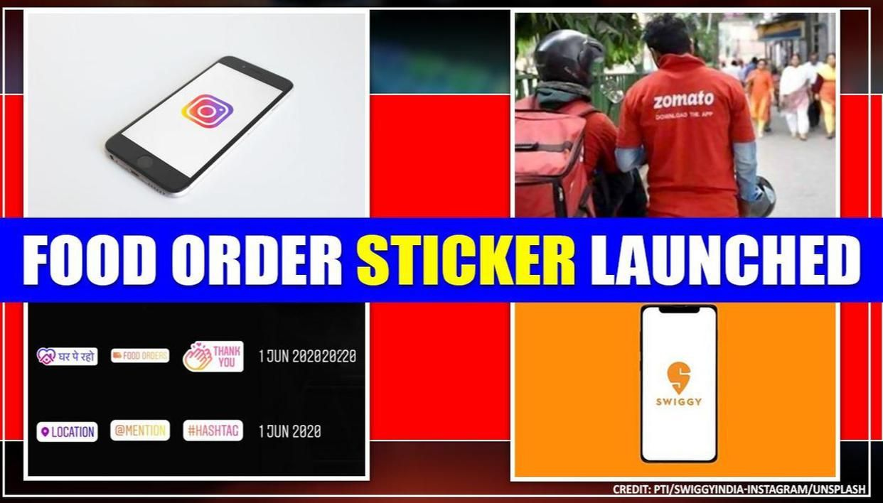 Instagram launches food order stickers with Zomato & Swiggy: Here's how to use them - Republic World
