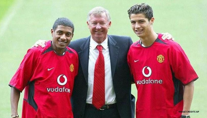 Manchester United Signed 18 Year Old Cristiano Ronaldo Otd 17 Years Ago For 12 2 Million