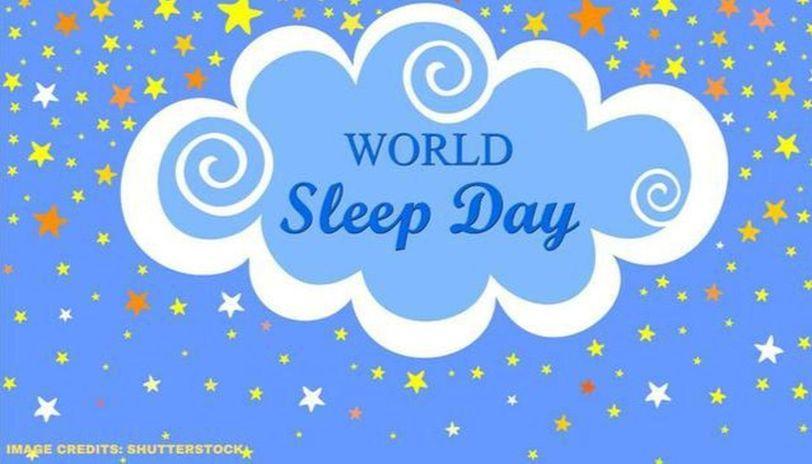 world sleep day theme