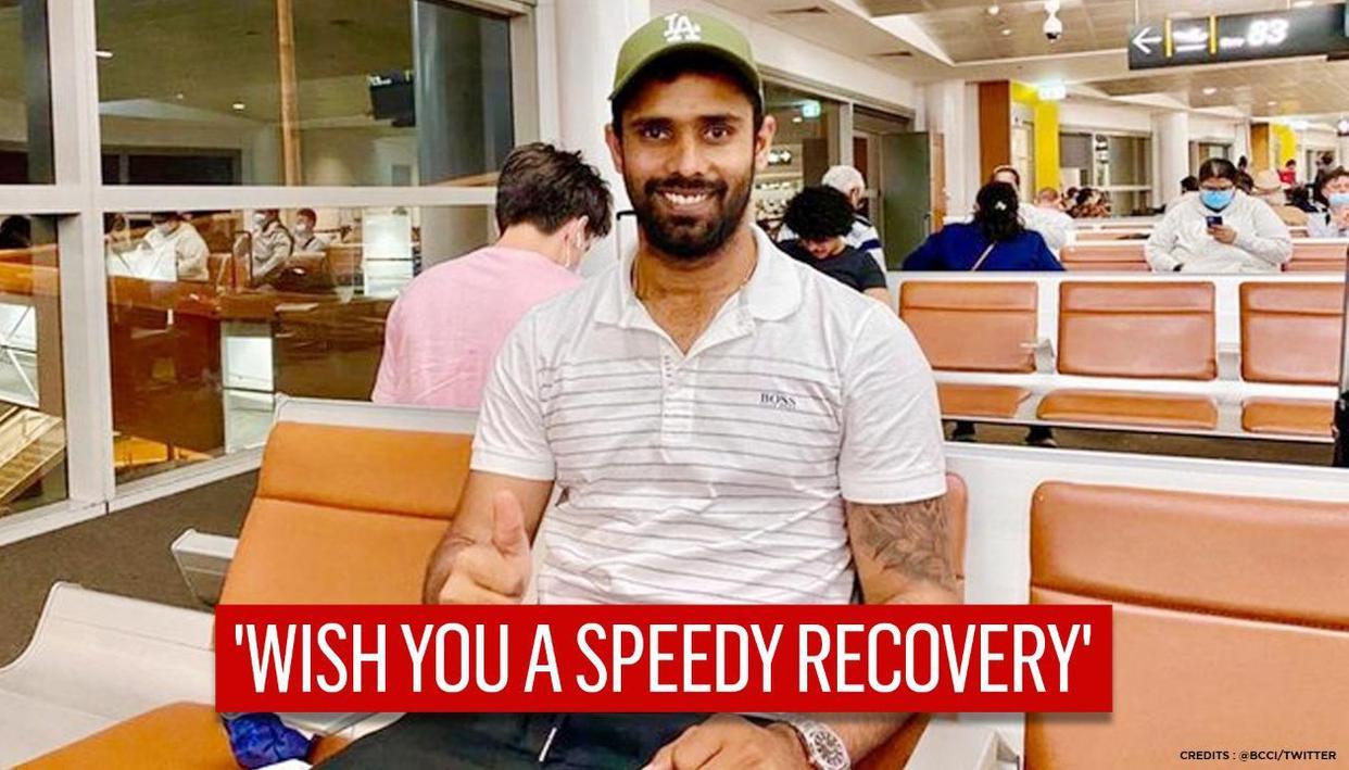 BCCI wishes SCG hero Hanuma Vihari a speedy recovery as he heads back to India
