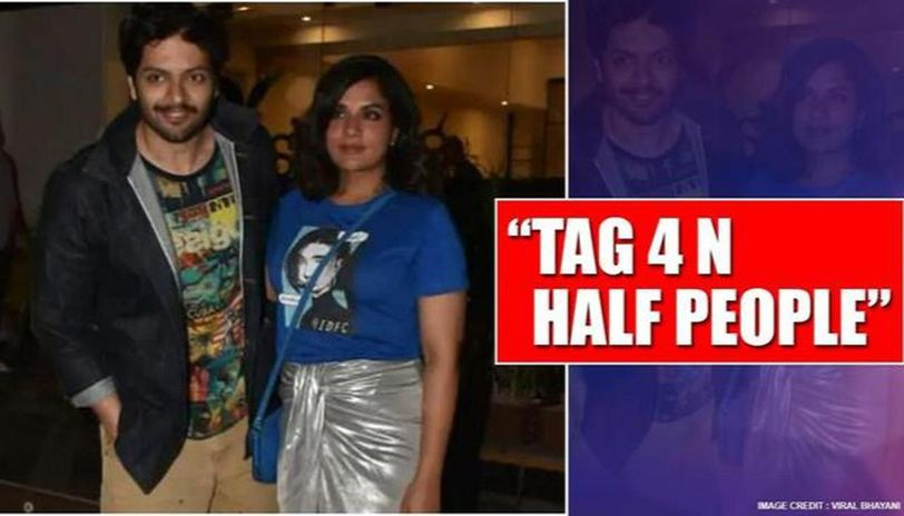 Ali Fazal's confusing post draws hilarious reactions; Richa Chadha also expresses surprise