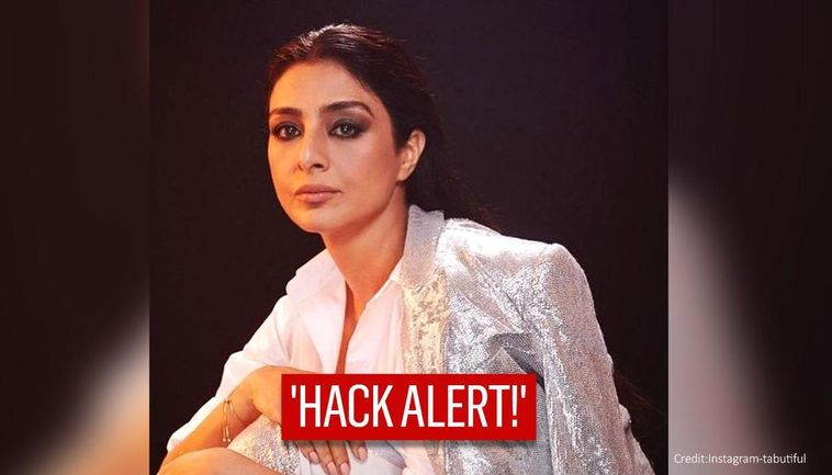 Tabu's Instagram Hacked