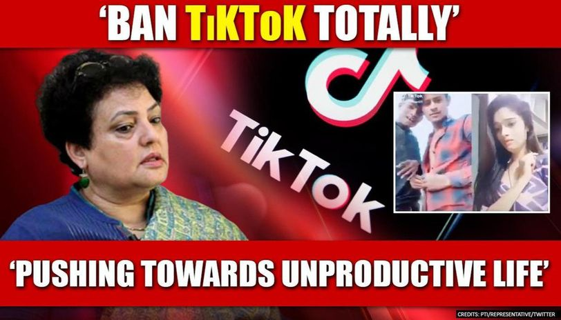 TikTok in big trouble; NCW to seek total ban amid objectionable ...