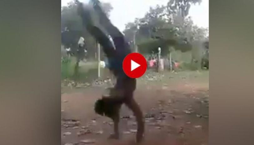 Man aces 30 somersaults at a time, leaves internet heavily impressed