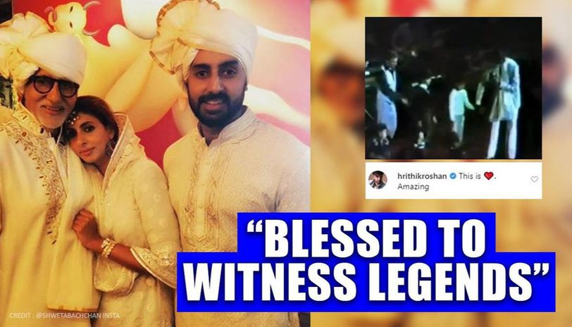 Young Abhishek, Shweta join Big B on stage at concert; anecdote makes celebs say 'amazing'