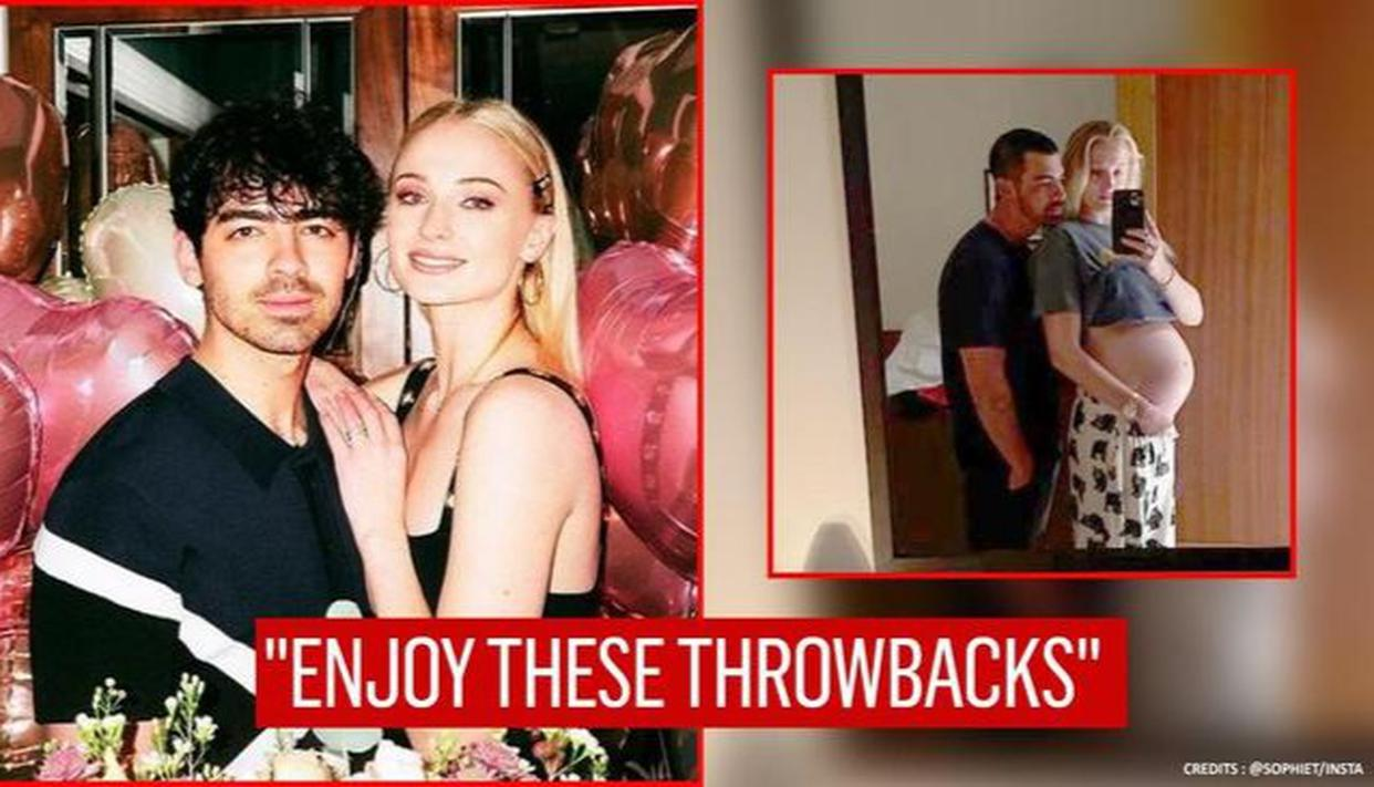 Sophie Turner's pregnancy selfie with Joe Jonas stands out as she drops 'needed content'