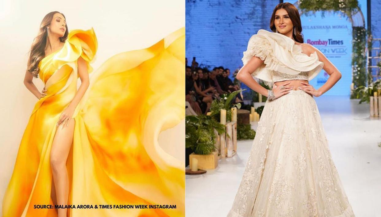 Malaika Arora and Tara Sutaria rock the dramatic shoulder sleeves outfit; See pics - Republic World