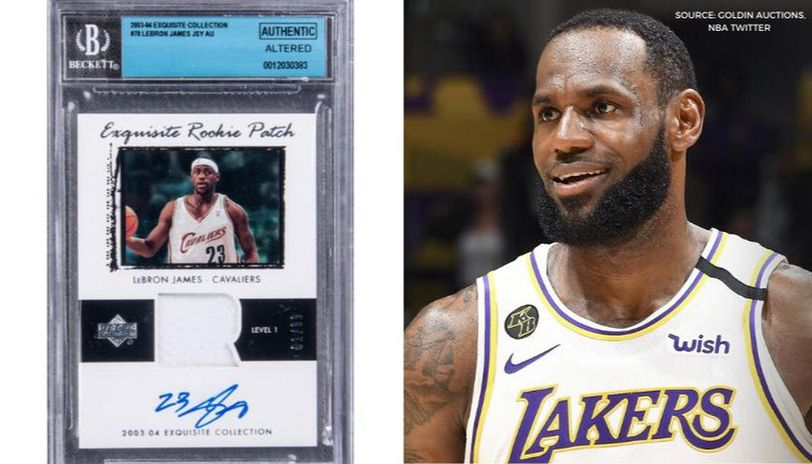 Lebron James Rookie Card Could Sell For 1 Million At Auction Report