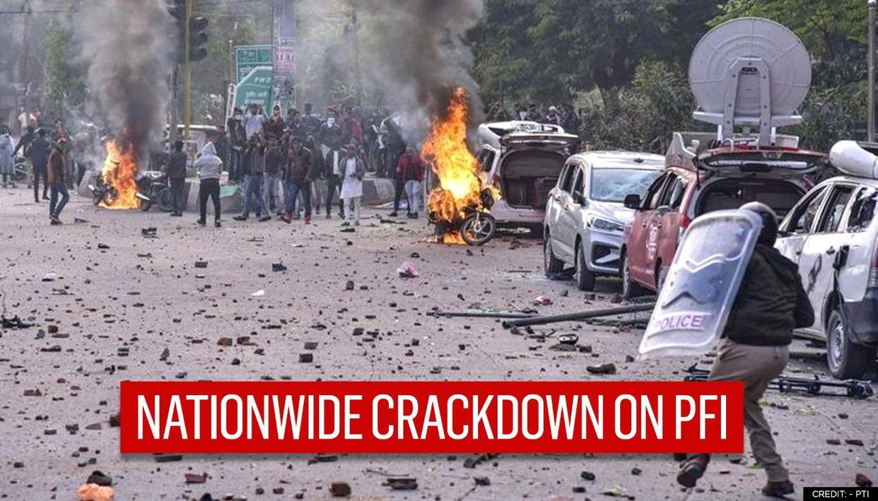 Massive crackdown on PFI over anti-CAA violence; ED raids 26 locations country-wide