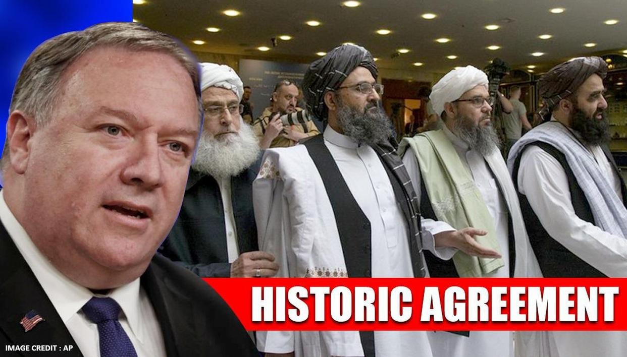 'Momentous day': Mike Pompeo hails historic US-Taliban ...