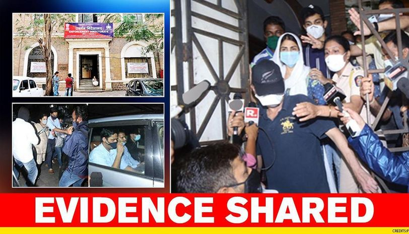 Ed Shares Evidence Of Rhea Chakraborty Using Dealing In Narcotics With Cbi S Sushant Sit Republic World
