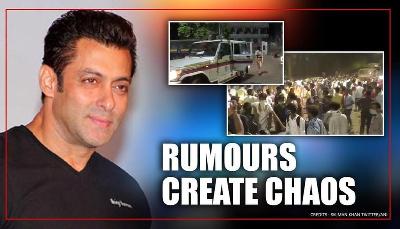 Rumours of Salman Khan distributing money, food creates huge crowd in Mumbai's Bhiwandi