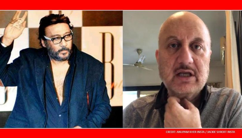 Anupam Kher shares Jackie Shroff's positive video, thank him for his 'philosophy'
