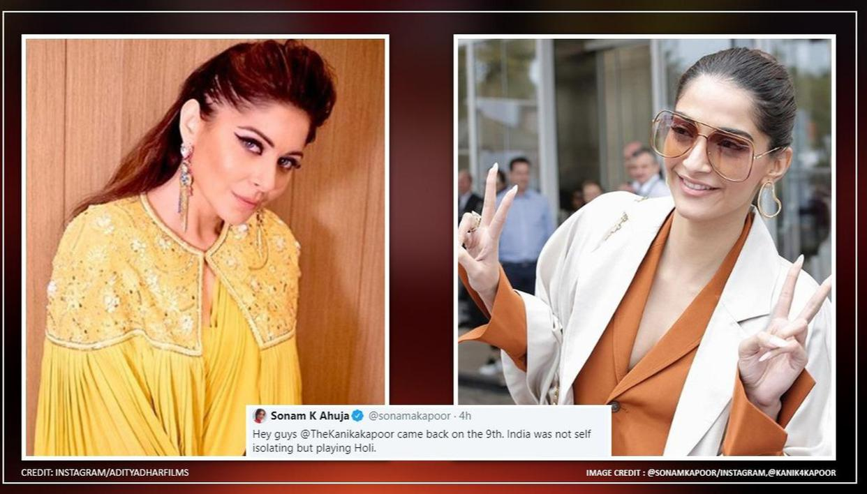 Singer Kanika Kapoor booked for negligence after testing Coronavirus positive!