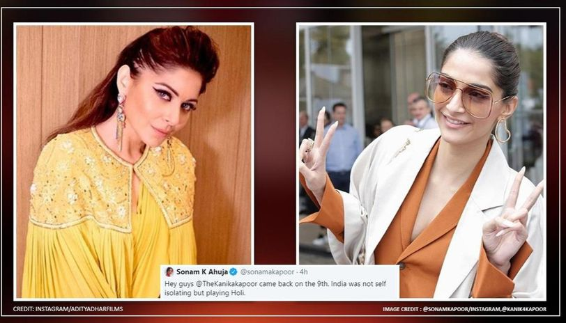 Sonam Kapoor's support for Kanika Kapoor doesn't please netizens, actor responds to flak