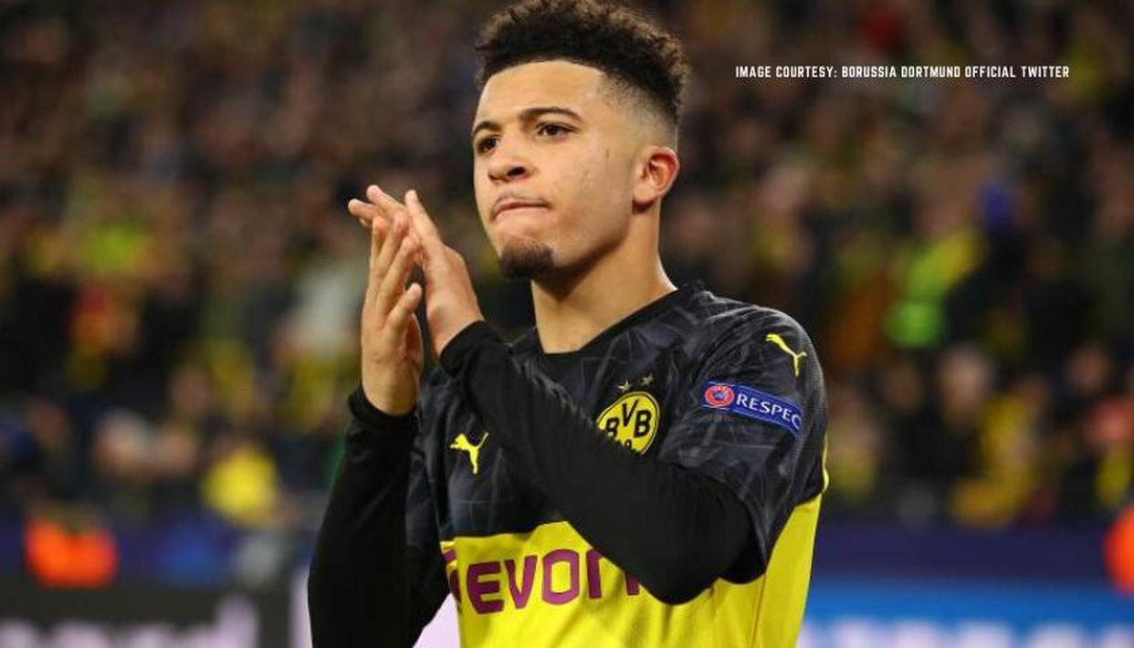 Jadon Sancho 'very happy' at Borussia Dortmund, says chief executive