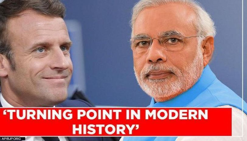 Narendra Modi talks to Emmanuel Macron, condoles deaths due to coronavirus pandemic