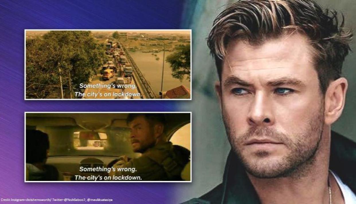 Extraction Chris Hemsworth S Trailer Cracks Up Internet With Hilarious Lockdown Memes Republic World