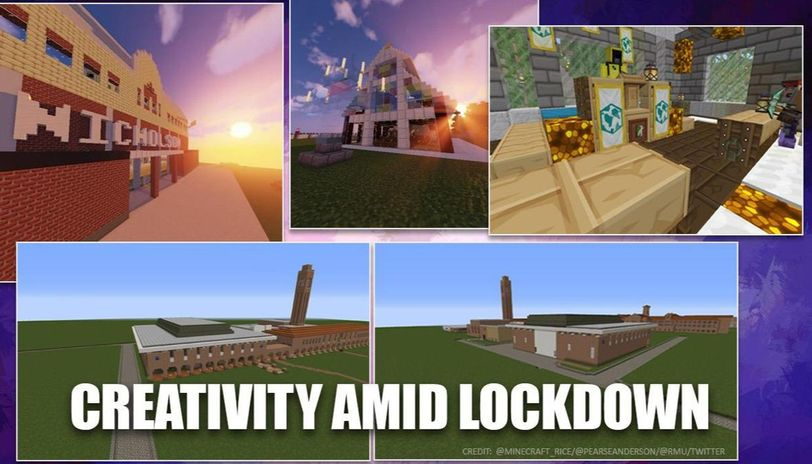 Students from University of Pennsylvania recreate college campus on Minecraft app