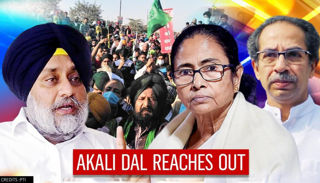 Akali Dal escalates anti-Centre push; Will meet CMs Mamata & Uddhav over farm laws row