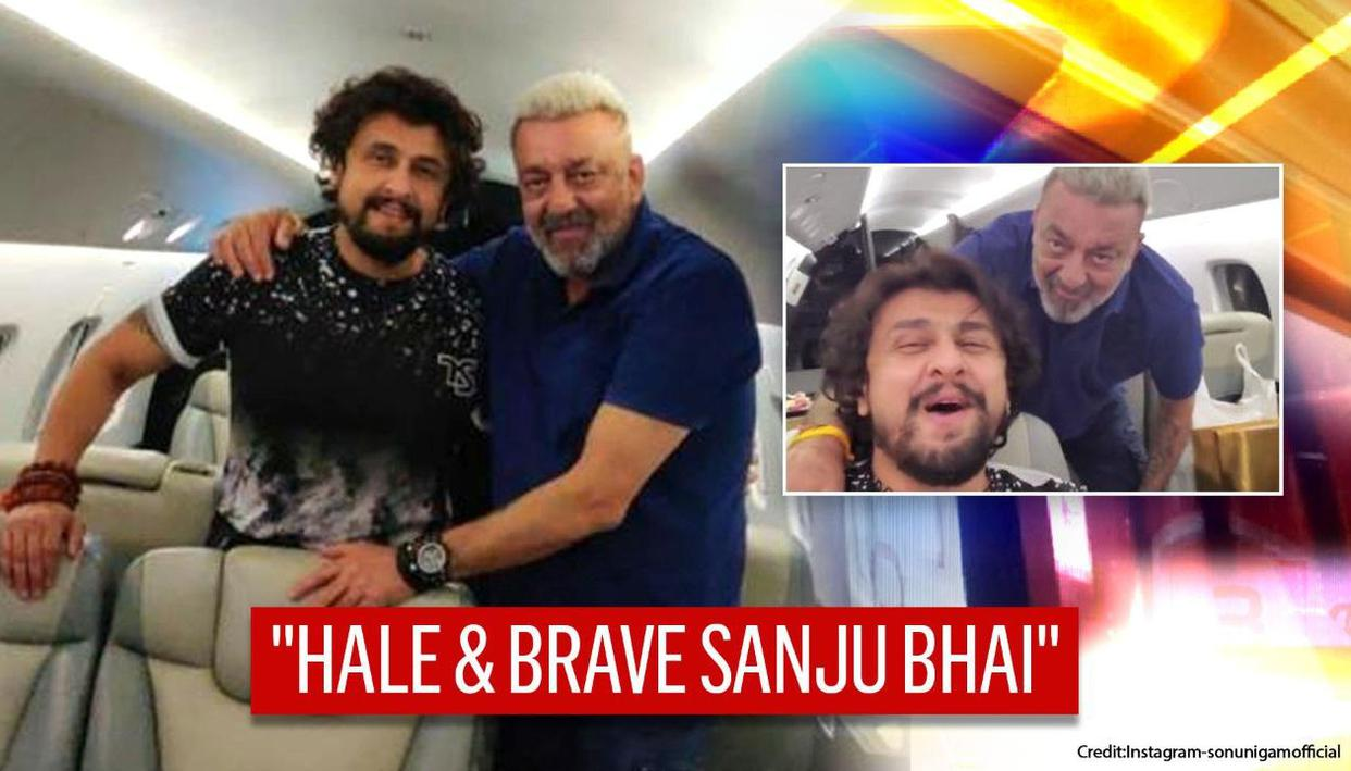 Sanjay Dutt flaunts another new look as Sonu Nigam vlogs ...