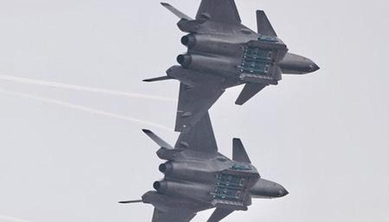 Chinese fighter jets encroach Taiwan's Air Defense Identification Zone (ADIZ)