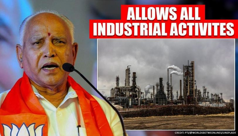 karnataka allows resuming all industrial activities