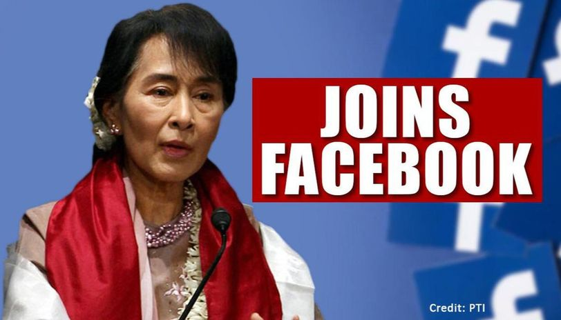 Aung San Suu Kyi joins facebook to communicate effeciently as Myanmar battles COVID-19