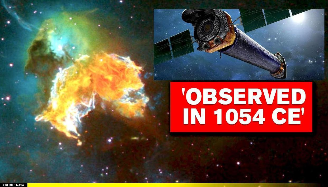 NASA shares image of The Crab supernova observed in 1054 CE - Republic World - Republic World
