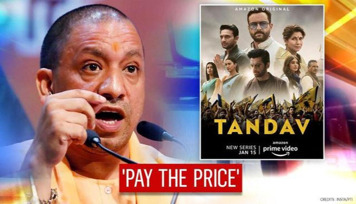UP CM Yogi warns of strict action against 'Tandav' makers for insulting Hindu religion