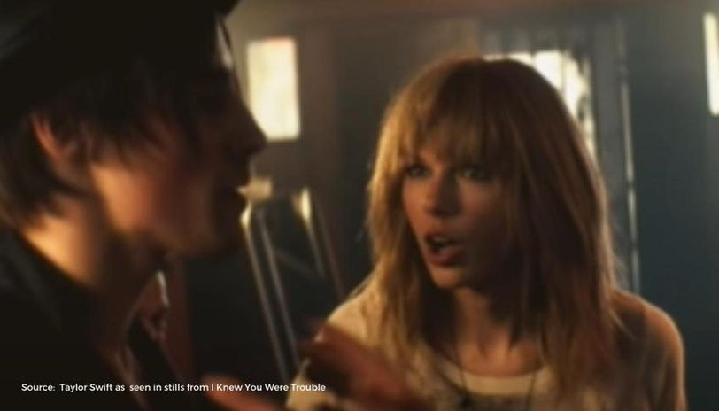 Taylor Swift S Best Moments From I Knew You Were Trouble Check Out