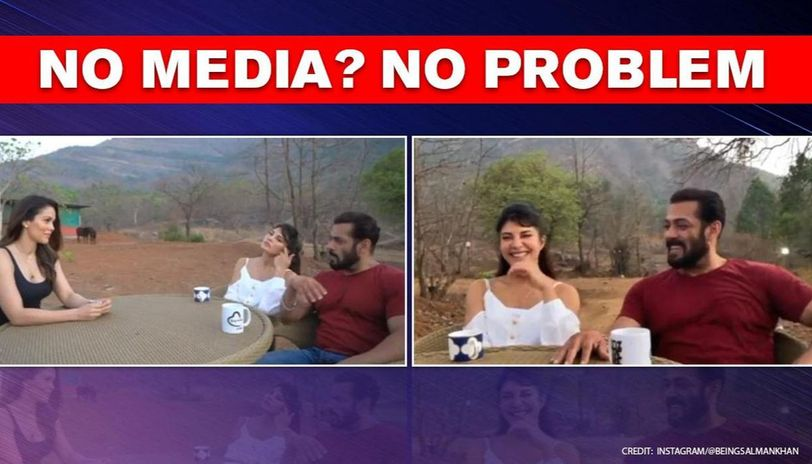 Salman Khan, Jacqueline Fernandez make special announcement in farmhouse interview, watch