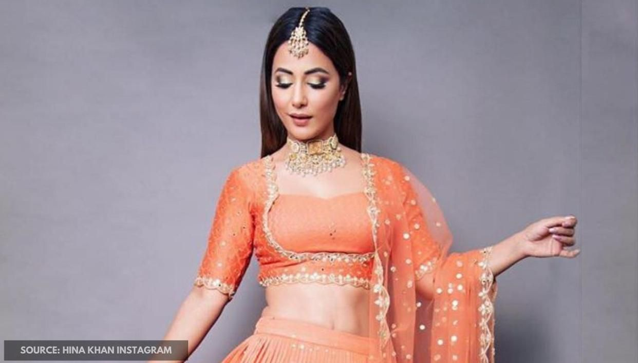 Hina Khan stuns in a bridal avatar and is killing it with her 'suuuuuwag'; See pic - Republic World