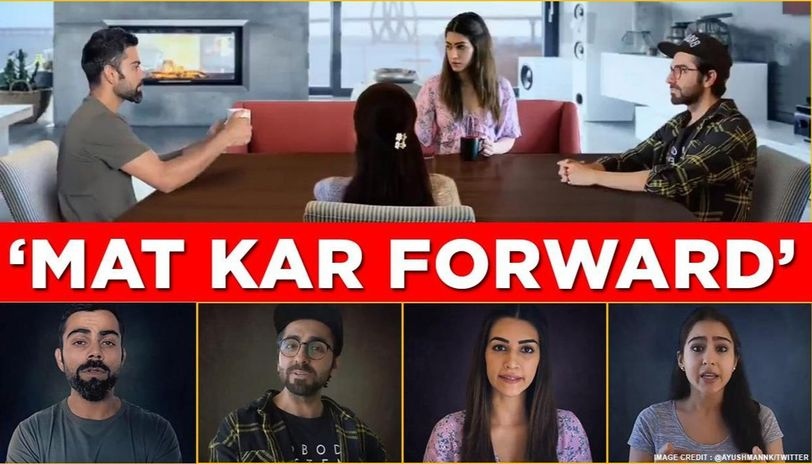 Bollywood stars join Tik Tok for its 'Mat kar forward' campaign to fight misinformation