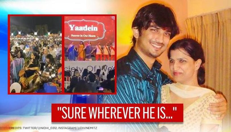 Grand event for Sushant Singh Rajput in Australia leaves sister Meetu 'extremely stirred'