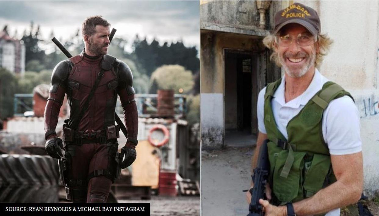 Michael Bay and Ryan Reynolds to collaborate for 'Deadpool Kills ...