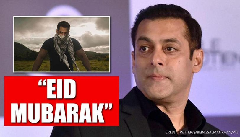 Salman Khan conveys greetings for Eid; netizens get excited about 'hint' with photo