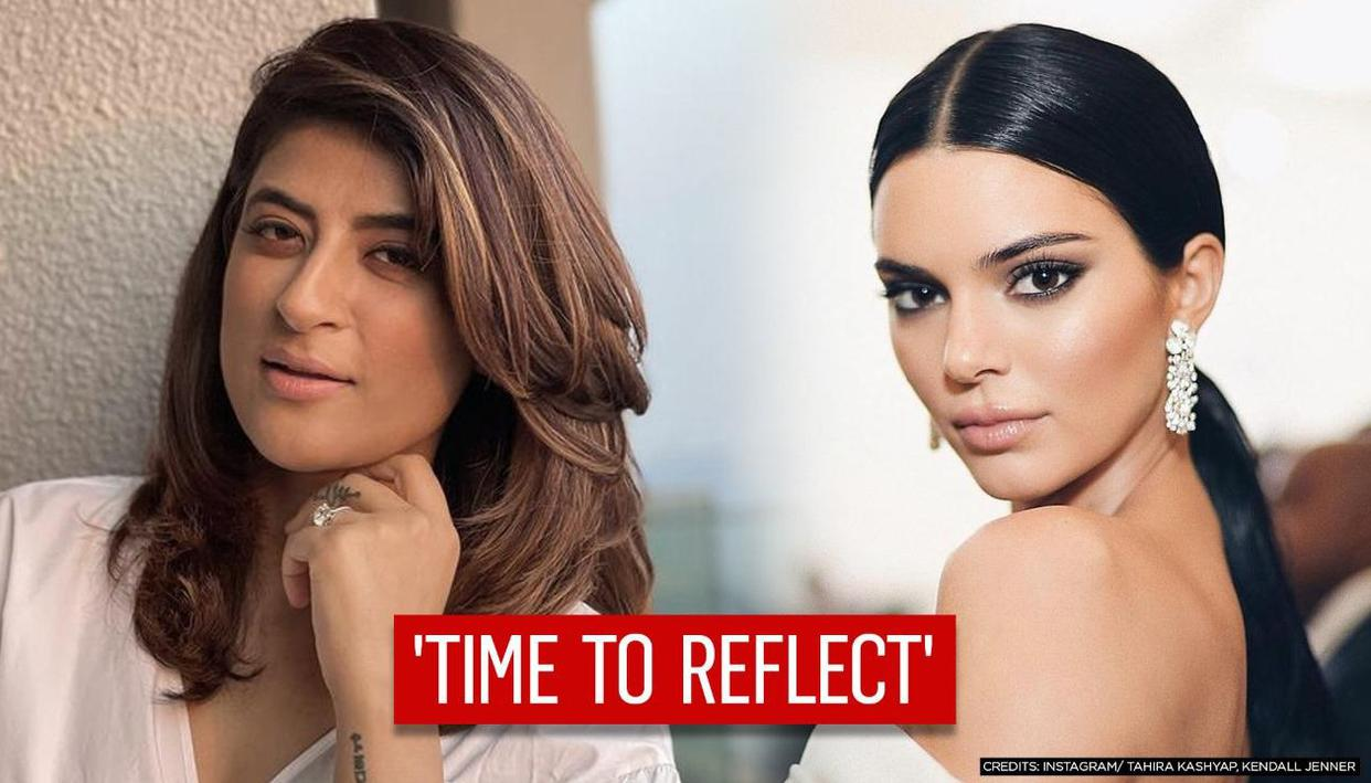 Tahira Kashyap reacts to Kendall Jenners viral lingerie pics, says how is it possible? - Republic TV
