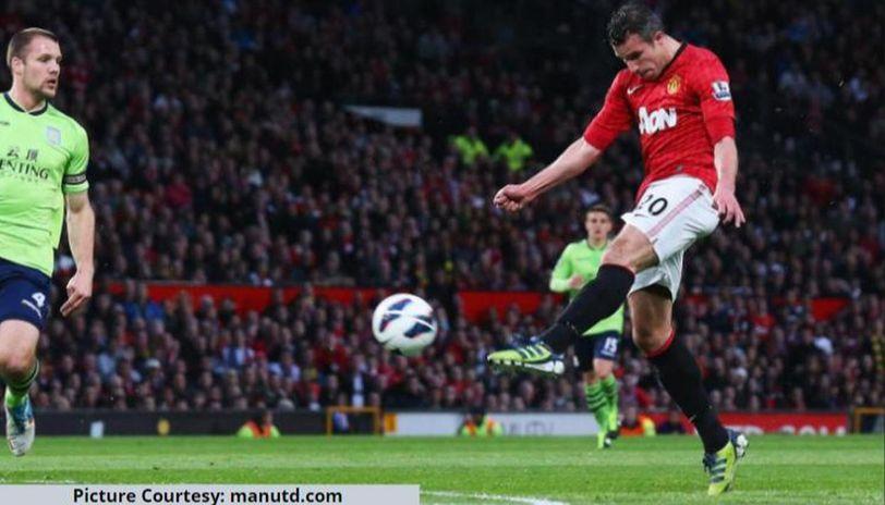 Why did Robin van Persie leave Man United