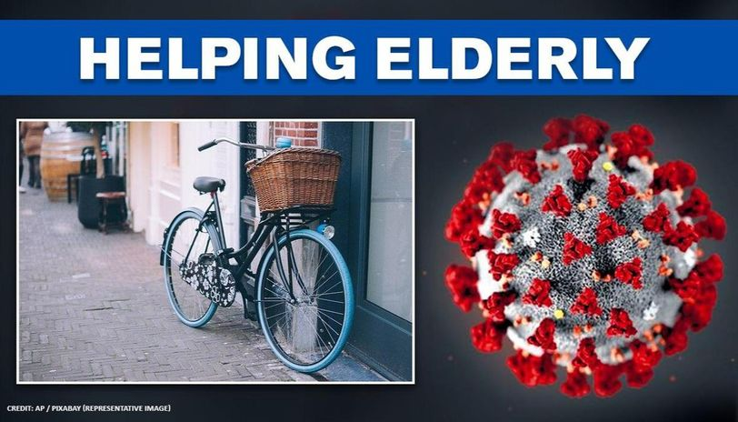 Coronavirus: Bengaluru woman cycles around city, helps elderly