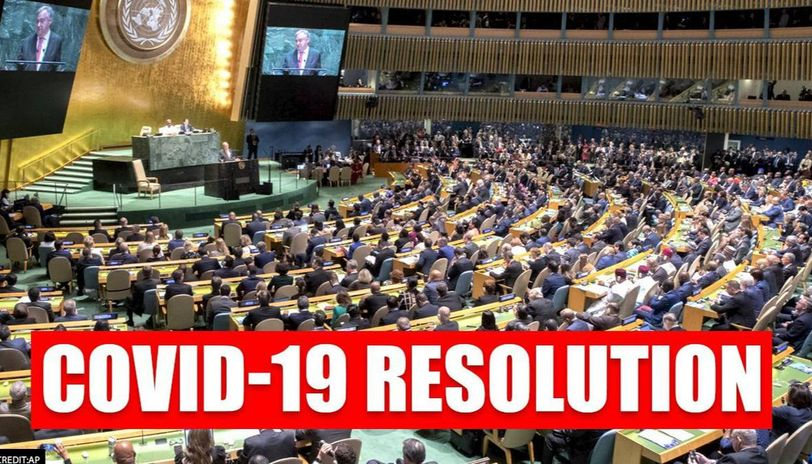 United Nations General Assembly calls COVID-19 its greatest challenge