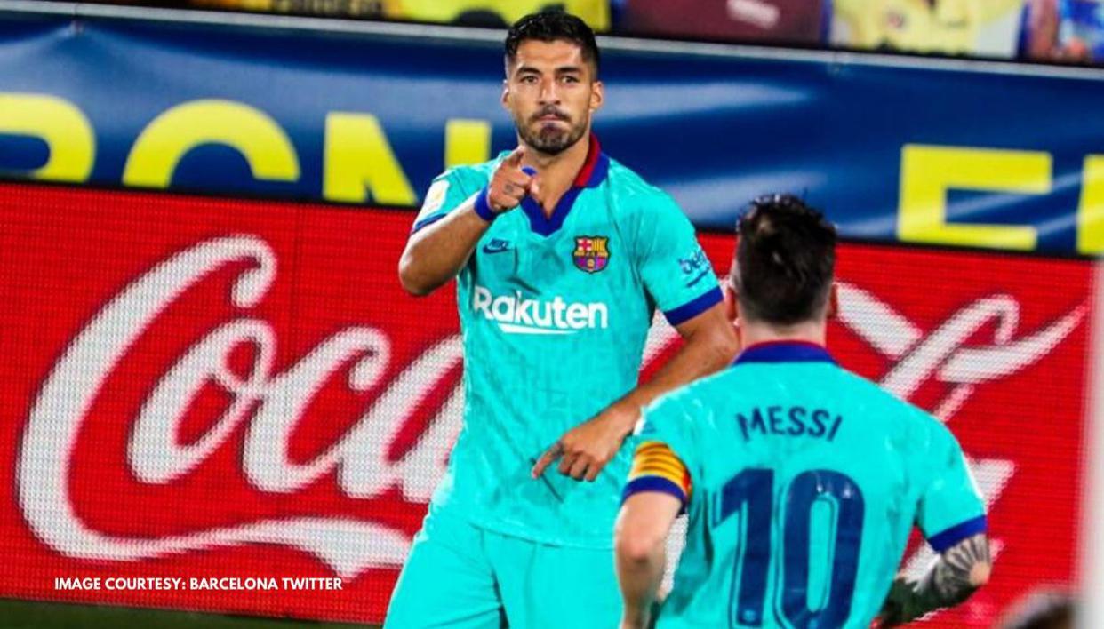 Luis Suarez's super stats after becoming Barcelona's third-highest all-time scorer - Republic World