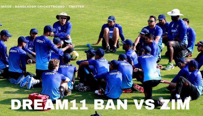 BAN vs ZIM dream11 prediction