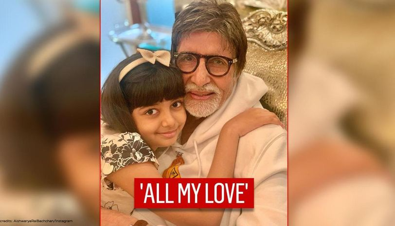 Amitabh Bachchan pens heart-melting birthday wishes for granddaughter Aaradhya