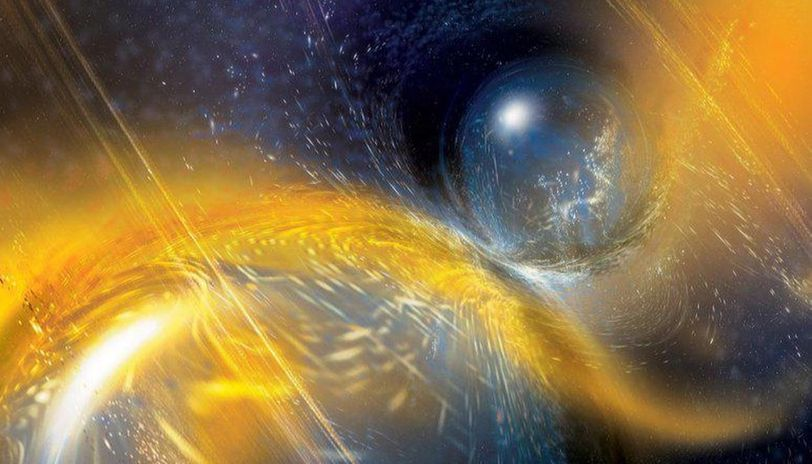 Astrophysics Theory proposes solution to neutron star merger mystery