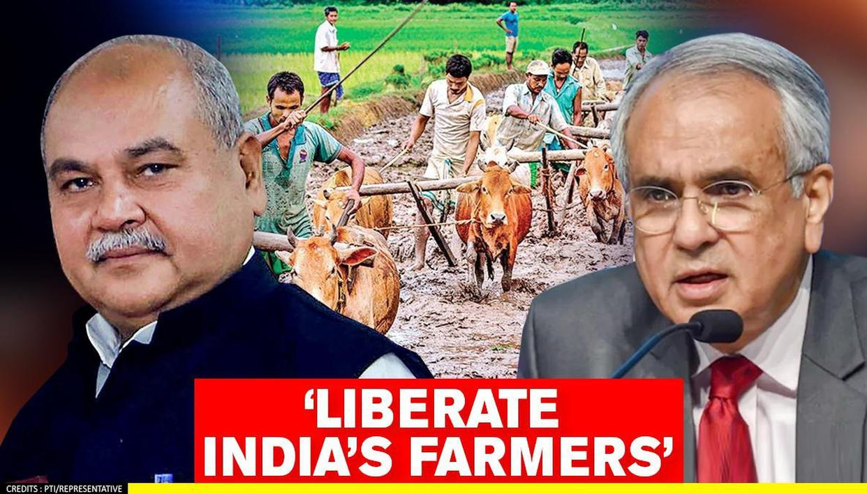 NITI Aayog VC urges citizens to support agriculture reforms; says they'll liberate farmers - Republic World