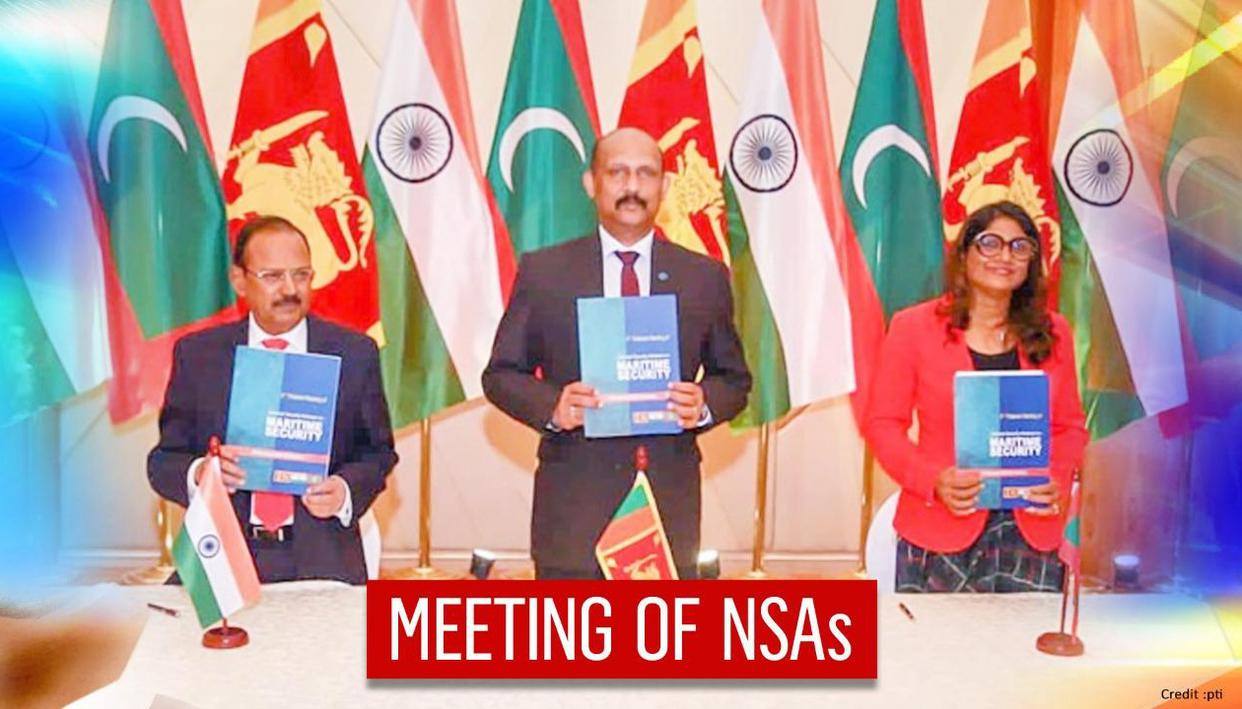 4th NSA-level meeting held between India, Sri Lanka and Maldives; Ajit Doval attends
